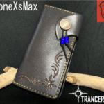 本革iPhoneXsMaxケース